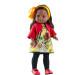 Кукла Soy Tu Амор в красной кофте, 42 см