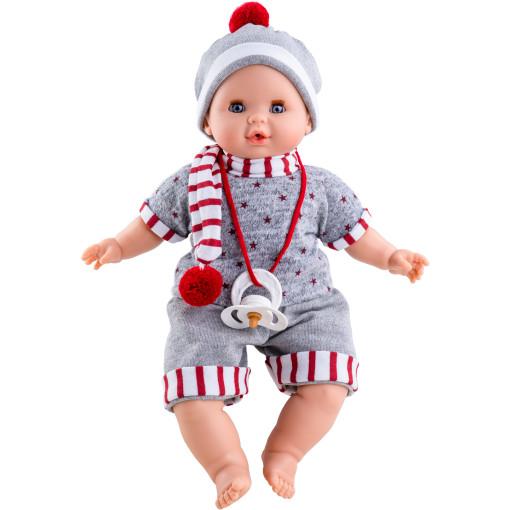 Кукла Алекс в шарфике, 36 см, озвученная