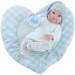 Кукла Бэби с ковриком-сердце, 32 см