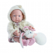 Кукла Бэби с подушкой-зайцем, 36 см