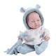 Кукла Бэби девочка с полотенцем и звездочкой, 45 см