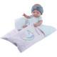Кукла Бэби девочка с розовым конвертом, 45 см