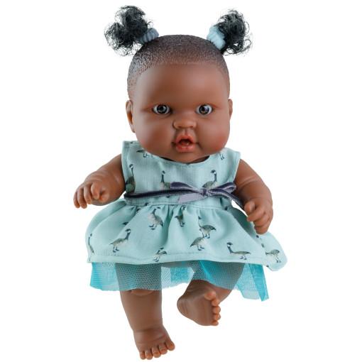Кукла-пупс Эбе, 22 см, мулатка