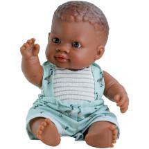 Кукла-пупс Олмо, 22 см, мулат