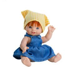 Кукла-пупс Елена, европейка, 21 см