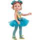 Голубой балетный костюм для кукол 32 см