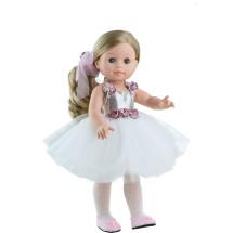 Белый наряд балерины для кукол 42 см