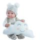 Одежда бежевый комбинезон для куклы Бэби, 32 см