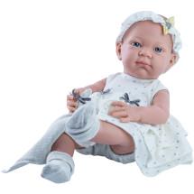 Одежда платье в горошек для куклы Бэби, 36 см