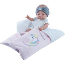 Одежда с розовым одеялом для куклы Бэби, 45 см