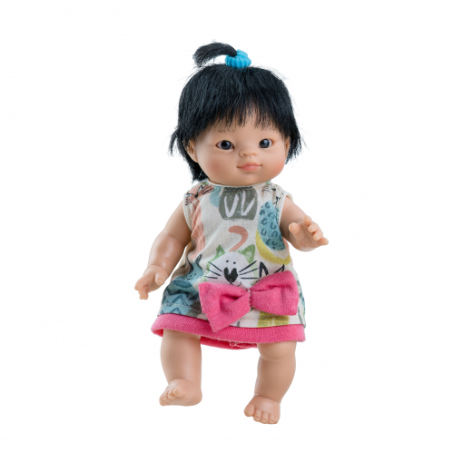 Одежда для куклы пупса Флора, 21 см, азиатка