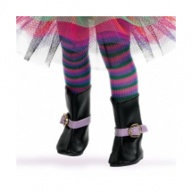 Колготки полосатые, разноцветные для кукол 32 см