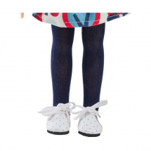 Колготки темно-синие для кукол 32 см