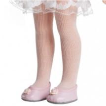 Колготки розовые для кукол 32 см,