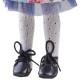 Колготки белые, ажурные для кукол 32 см