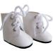 Ботинки белые, для кукол 32 см