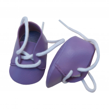 Ботинки фиолетовые, для кукол 36 см