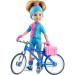 Кукла Даша, велосипедистка, 32 см
