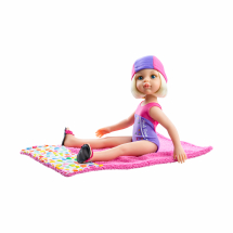 Кукла Клаудиа, пловчиха, 32 см