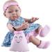Кукла Бэби с детской игрушкой, 36 см, девочка