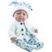 Кукла Бэби в плюшевом костюмчике, 45 см, мальчик