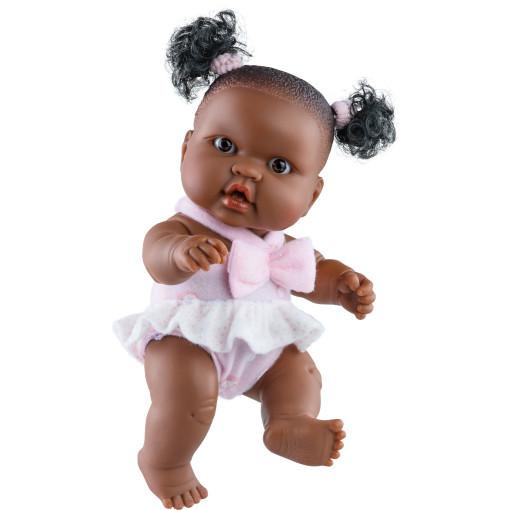 Кукла-пупс Эбэ, 22 см, мулатка
