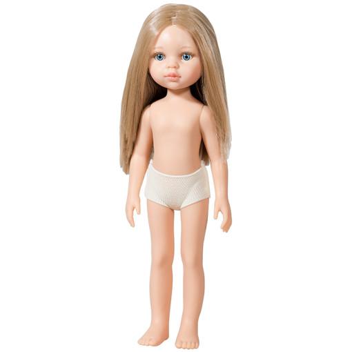 Кукла Карла, блондинка, без одежды, 32 см