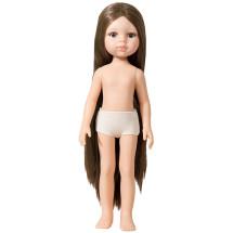 Кукла Кэрол брюнетка без одежды