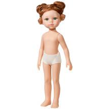 Кукла Кристи, рыжая с двумя пучками, без одежды, 32 см