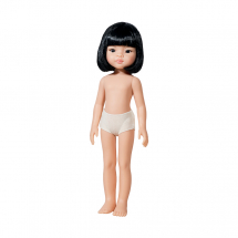 Кукла без одежды Лиу, с каре, 32 см