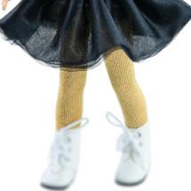 Колготки золотые для кукол 32 см