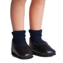 Носочки темно-синие для кукол 32 см