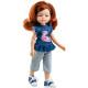 Кукла Инма в топе с фламинго, 32 см