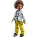 Кукла Кайэтано в желтых вельветовых брюках, 32 см