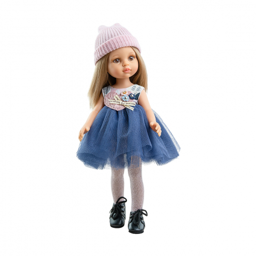 Кукла Карла в розовой шапочке, 32 см