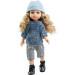 Кукла Карла в голубой шапочке, 32 см