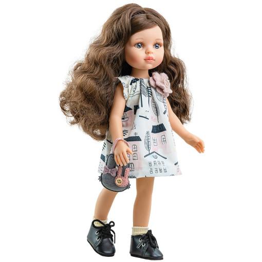 Кукла Кэрол с сумкой-зайчиком, 32 см
