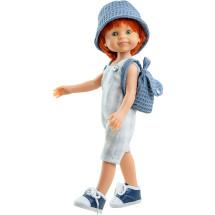 Кукла Крис в панамке, 32 см