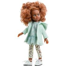 Кукла Нора в бирюзовом наряде, 32 см