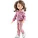 Кукла Мали в розовом худи, 32 см, шарнирная