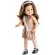 Кукла Soy Tu Эмили с розовой блестящей сумочкой, 42 см