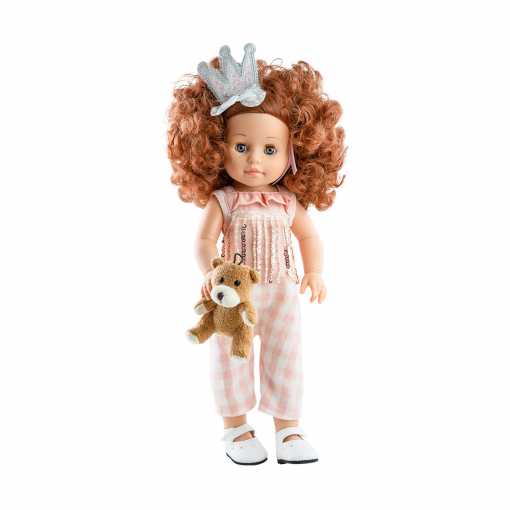 Кукла Soy Tu Бекка в короне, 42 см