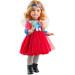 Кукла Марта в красном платье, шарнирная, 60 см