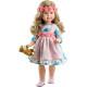 Кукла Альма в цветочном венке, шарнирная, 60 см