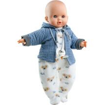 Кукла Алекс в синей кофточке, 36 см, озвученная