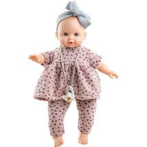 Кукла Соня в наряде в горошек, 36 см, озвученная