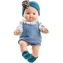 Кукла Горди Бланка в синей повязке, 34 см