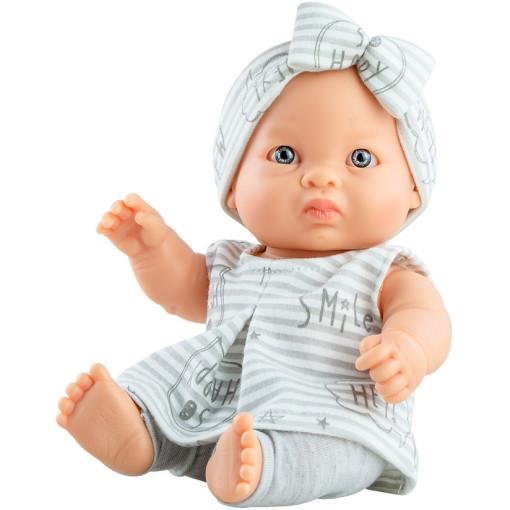 Кукла-пупс Хана в полосатой повязке, 22 см