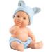 Кукла-пупс Альдо в шапочке с ушками, 22 см
