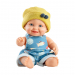 Кукла-пупс Тео в желтой шапочке, 22 см